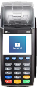 Counter Top payment machine