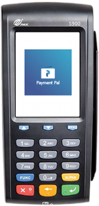 Portable online payment device